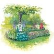 База отдыха Дружба - иконка «сад» в Тисуле